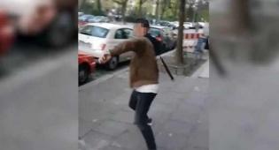 ברלין: מוסלמי הכה צעיר יהודי בחגורה • צפו