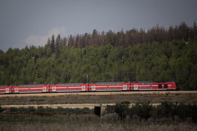 רכבת ישראל בדרכה לכרמיאל