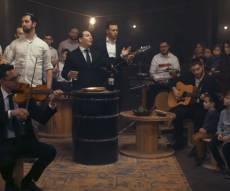 זלמן פולק בסינגל קליפ:  'הבדלה מוזיקלית'