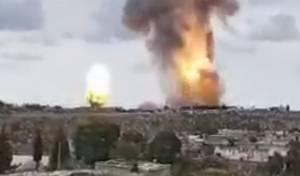 """צה""""ל תקף את הג'יהאד האסלאמי • כך זה נראה מתוך עזה"""
