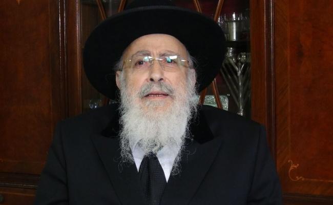 הגאון רבי שמעון אליטוב עם וורט לכבוד מתן תורה