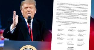 טראמפ והמכתב