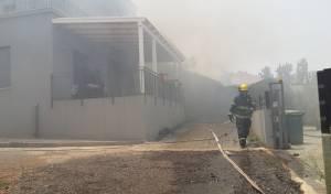 השריפה בתל מונד