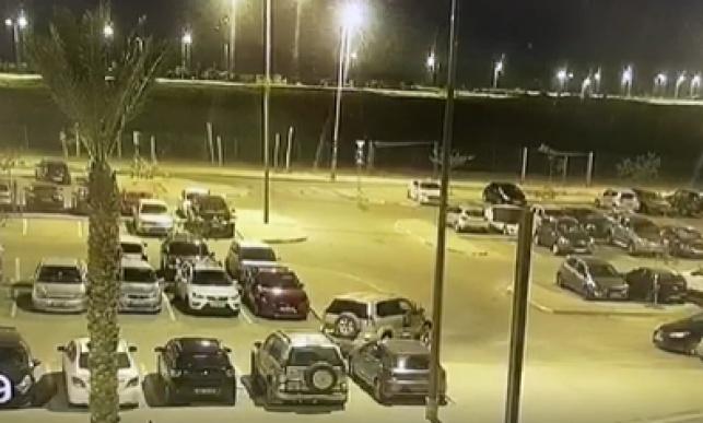 תיעוד: הבדואים גנבו ג'יפ מחניון בסיס צבאי