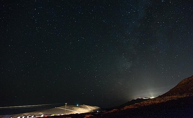 תיעוד מרהיב: מטר המטאורים בשמי הנגב