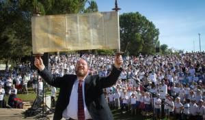 אירוע זכר ל'הקהל' באפרת בהשתתפות 2000 ילדים
