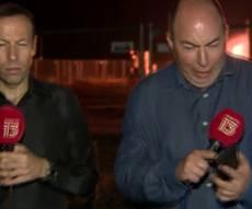 נס בגבול: יירוט מאחורי כתבי ערוץ חדשות