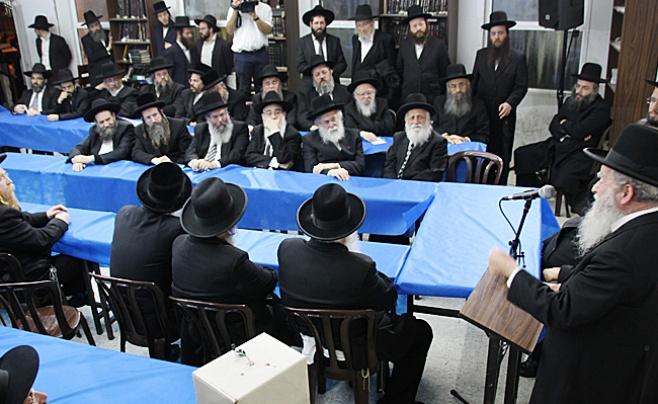 צפו בתמונות: כינוס גדולי ישראל בנושא החינוך