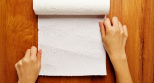 מגבת נייר. לא מה שחשבנו