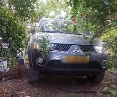 הרכב בקלקיליה - נכנס לעשות קניות בכפר הפלסטיני ונשדד