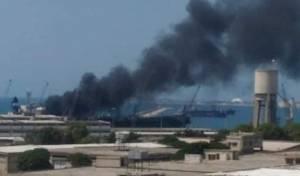 דיווחים: פצועים בפיצוץ בנמל לטקיה בסוריה