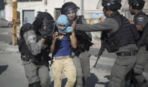 מעצר מתפרע בירושלים - ירושלים: 17 ערבים נעצרו בחשד לפעילות טרור
