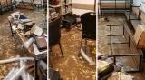 הנזקים בחיידר - בעקבות הגשמים: החיידר הירושלמי הושבת