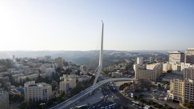 33 מעלות בירושלים, צילום מהאוויר השבוע