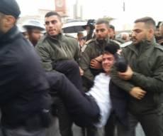 מעצרים בהפגנה - 'הפלג' הפגינו בי-ם; 36 מפגינים נעצרו. צפו