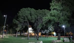 איך נראה גן העצמאות בלילה בזמן שרב? • צפו