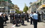ההפגנה ביפו - עשרות מפגינים ביפו נגד מעצר וגיוס עריקה
