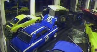 הרכב נגנב מהתצוגה בפחות מדקה