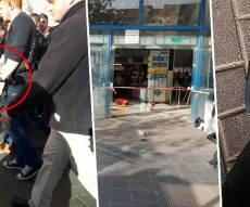 זירת הפיגוע והמחבל מובל למעצר - פצוע קשה בפיגוע דקירה בתחנה המרכזית