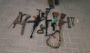 הנשקים שנתפסו