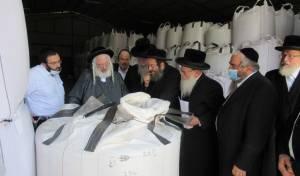 """למרות המחלוקת: הרבנים הפרישו ביחד תו""""מ"""