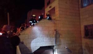 הבניין החשוד בדליפה