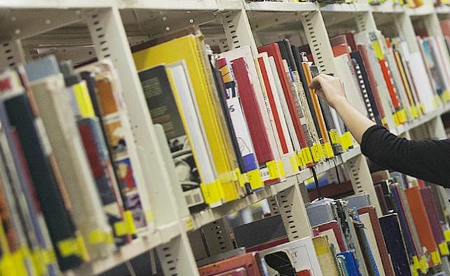 ספריה. אילוסטרציה