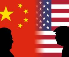 """דגלי ונשיאי ארה""""ב וסין, אילוסטרציה"""