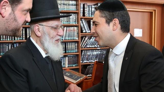 בועז ביטון עם נשיא המועצת