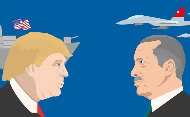 טראמפ מול ארדואן
