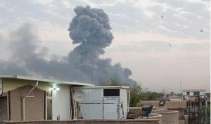 דיווח בעיראק: פיצוץ נוסף במחסן נשק  שיעי