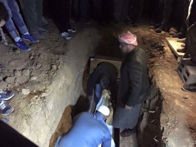 הקבורה