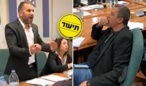 עימות סוער בין ראש העיר שהודח לרון קובי