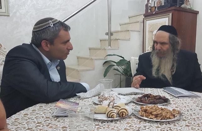 """הרב ארוש לאלקין: """"תהיה ראש העיר הבא"""""""