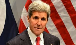 מזכיר המדינה האמריקני ג'ון קרי