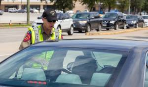 שוטר בטקסס, אילוסטרציה