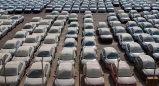 מכוניות בנמל אילת