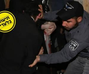 המשטרה פשטה על בתי הקיצוניים; חשוד ומפגין - נעצרו