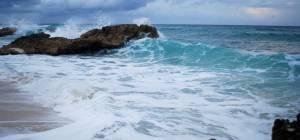 חוף סוער בקוזומל, מקסיקו