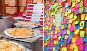 """לקנות פיצה ולזכות ב""""מתן בסתר"""" יצירתי. הפיצרייה של מייסון וורטמן"""