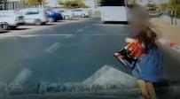 כמעט תאונה קטלנית: צפו בסרטון המלחיץ