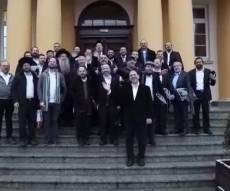 ה'למדנים' של קרית ספר התרגשו בפולין