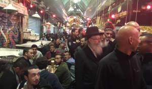 ליצמן ערך ביקור פתע בשוק מחנה יהודה