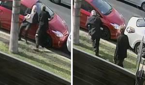 חרדי מבוגר הותקף באלימות בידי בריון. צפו