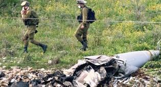 """זירת נפילת המטוס - תחקיר: הטיל האיראני """"ננעל"""" על עוד מטוס"""