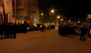 מפגינים מונעים את מעצרו, לפני חודשיים