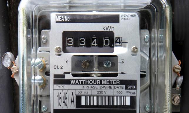 שעון חשמל חברת החשמל  שעון חשמל דירתי