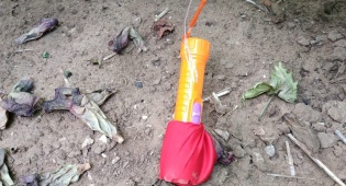 חבלני המשטרה נאבקים בבלוני הנפץ בדרום