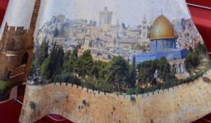 השרה רגב בשמלת 'ירושלים של זהב'