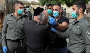בנימין פרידמן בעת מעצרו